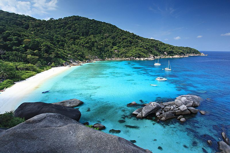 similian islands