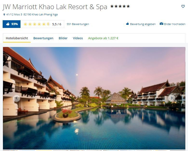 Marriott Khao Lak holidaycheck