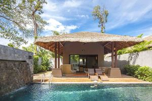 palm villa elite pool