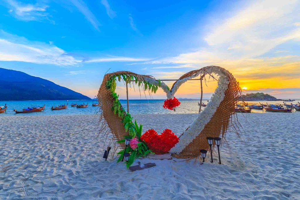 koh lipe sunrise beach klein